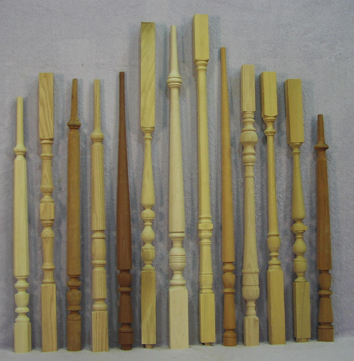Staircase balusters the woodworks company - Give home signature look elegant balustrades ...