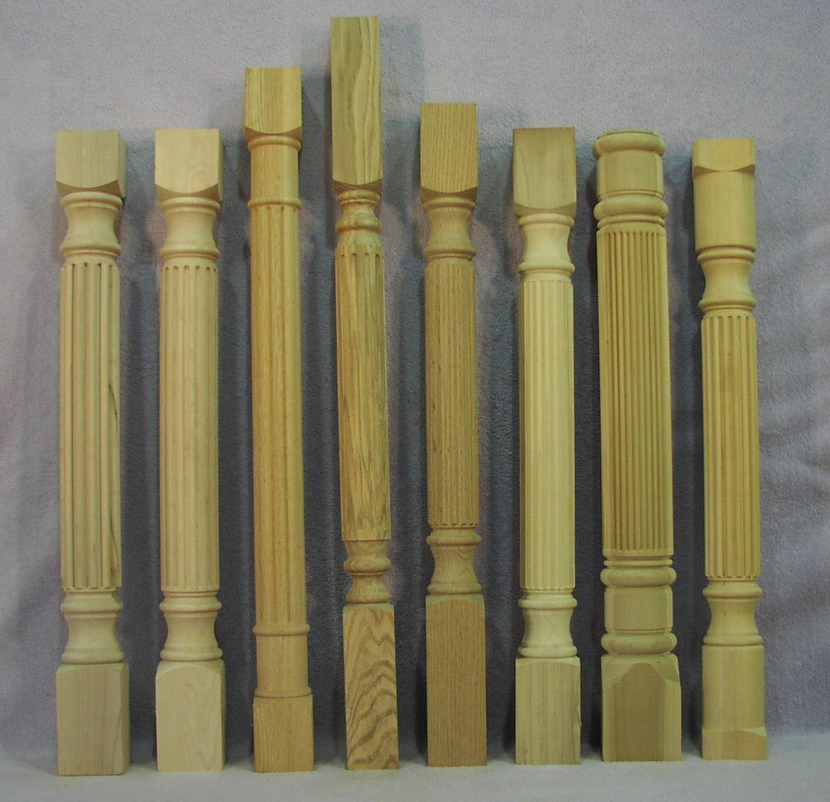 Wooden column and leg turnings the woodworks company fluted and reeded columns watchthetrailerfo