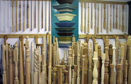 Our In House Stock of turnings