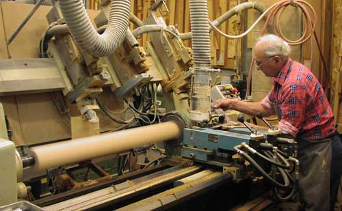 Operating the Turning Lathe