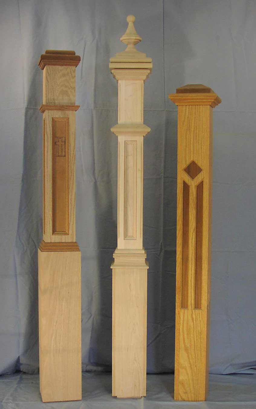 Newel Posts The Woodworks Company